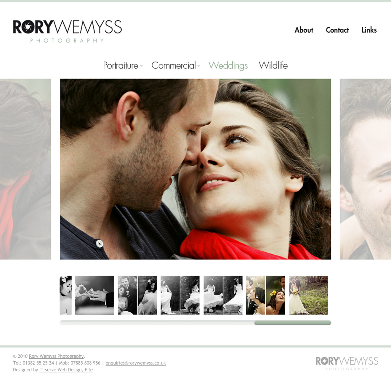 Rory Wemyss Photography home page